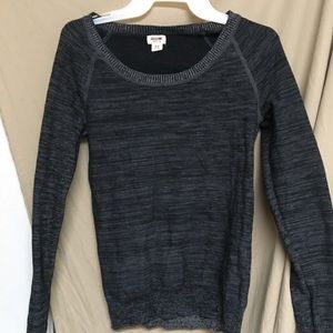 Mossimo Gray Sweatshirt womens